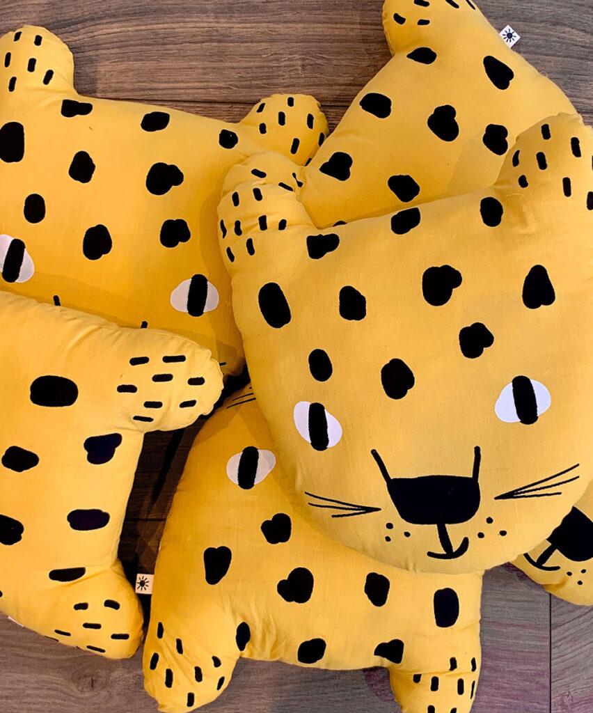 Little leopard cushions